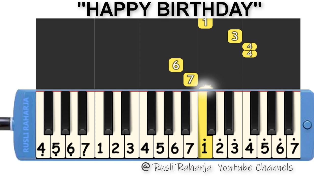 Happy Birthday Not Pianika Youtube