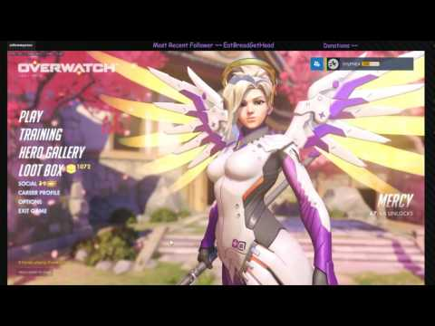 WORLD FIRST lvl 2000 PLAYING MYSTERY HEROES in Overwatch! =D