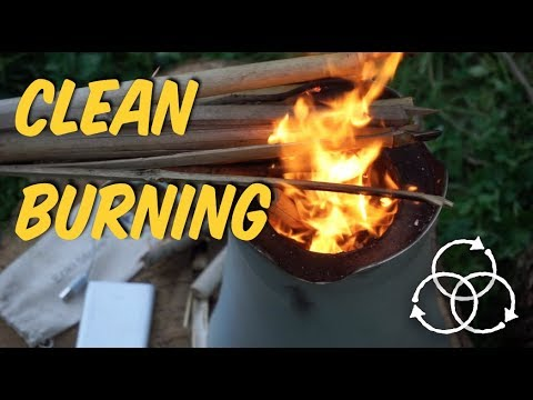 CLEAN BURNING with a $40 Rocket Stove + an Enki Stove | The Advanced Permaculture Student Online