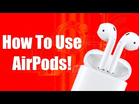 Apple AirPod User Guide and Tutorial!