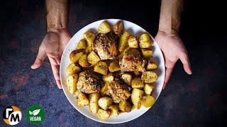 Курица с картошкой по гречески Простой и быстрый ужин для всей семьи Голодный Мужчина ГМ 285