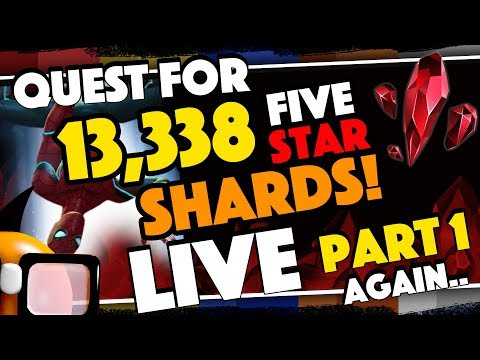 Spidey Give Me One More Chance: Quest for 13,338 Five Star Shards