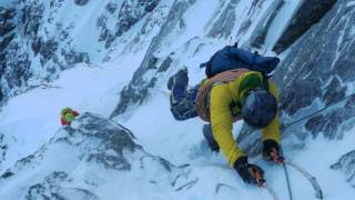 A winter ascent of Tower Ridge on the north face of Ben Nevis