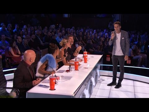 America's Got Talent 2016 Blake Vogt The Allergic Magician Live Shows Round 3 S11E16