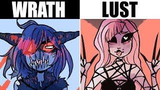 IF THE 7 DEADLY SINS WERE CUTE GIRLS