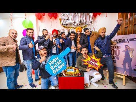 Guru Randhawa | Celebrating 200 Million : High Rated Gabru