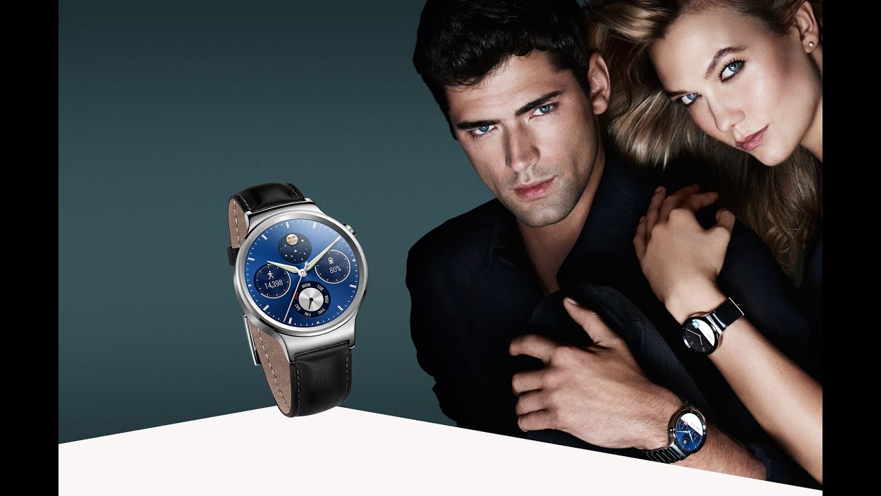 Huawei Smartwatch Classic style and smart technology ...