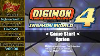 Questing for Glory - Digimon World 4 any% by Fire1520
