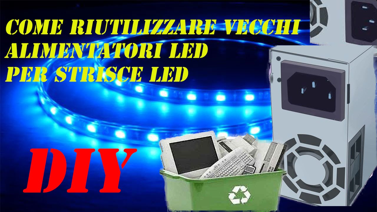 tutorial fai da te diy come riutilizzare alimentatori pc
