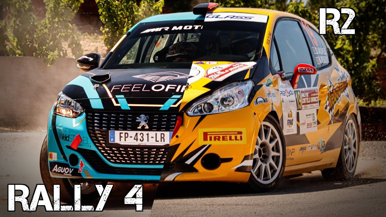Peugeot 208 R2 vs 208 Rally4 | Atmosferic Vs. Turbo Sound | CMSVideo