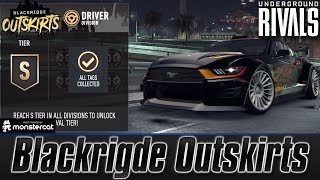 Need For Speed No Limits: Underground Rivals | Blackridge Outskirts | Driver Division | S Tier