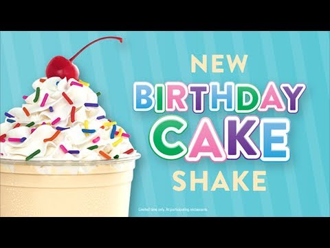 Jack In The Box Birthday Cake Shake Review - Wreckless Eating