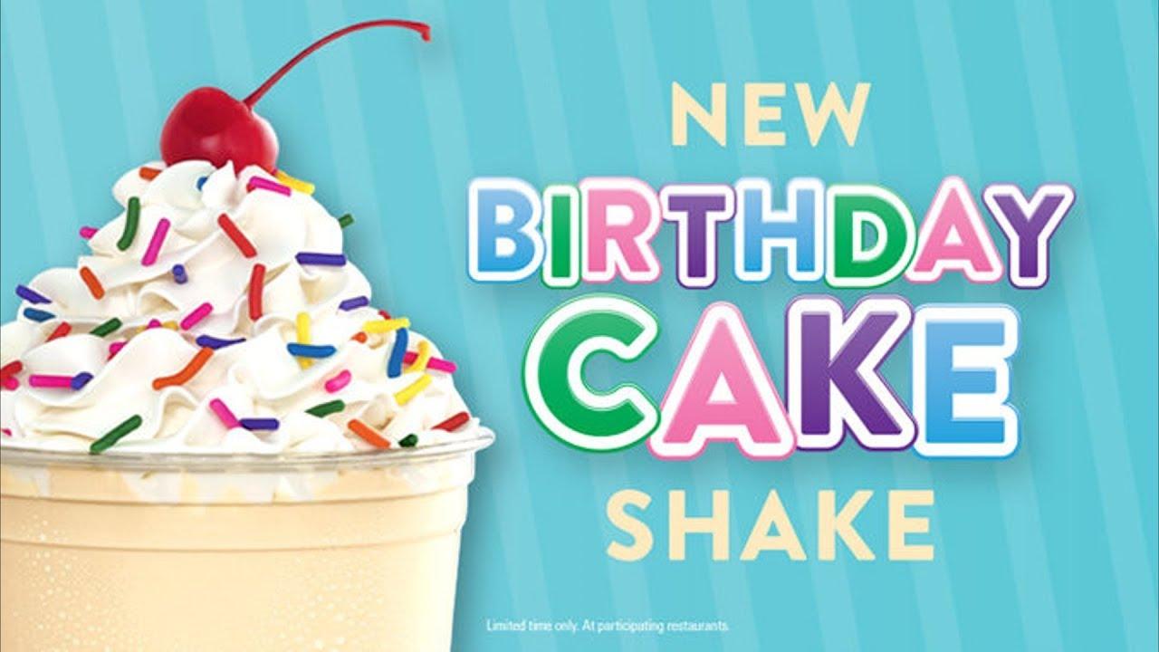 Jack In The Box Birthday Cake Shake