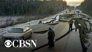Lasting effects of Alaska's magnitude 7.0 earthquake