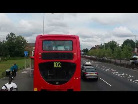 North London bus ride.