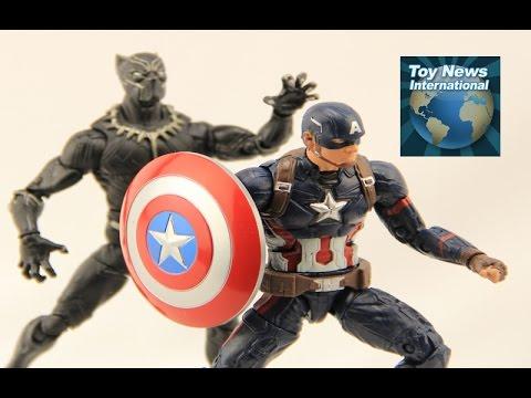 """Marvel Legends Captain America: Civil War 6"""" Captain America Figure Review"""