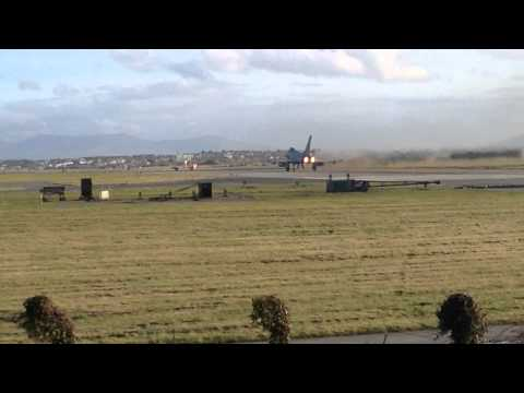 RAF Eurofighter Typhoon vertical take off