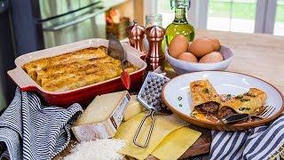 Cristina Ferrares Beef Cannelloni With Taleggio Sauce