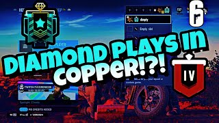 Diamond Plays n Copper?!?! Easy Ace!