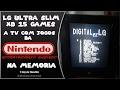 LG Ultra slim XD 15 Games a TV com Jogos da Nintendo na memoria