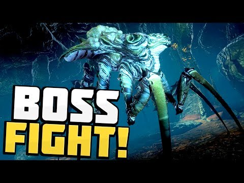 Osiris New Dawn - INSANE BOSS FIGHT! New Mining Dungeon & Giant Creature! - Osiris New Dawn Gameplay
