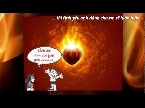 [HD]+[Kara]+[Vietsub]-Enternal flame-Human nature-Doremon