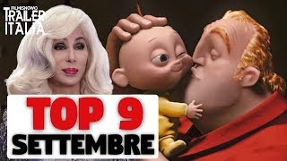 TOP 9 FILM AL CINEMA | Settembre 2018