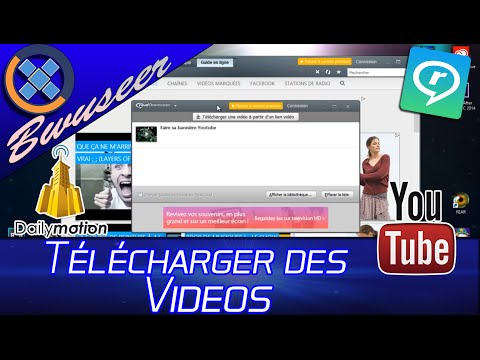 Télécharger des vidéos de YouTube , Dailymotion ..