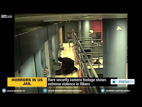 Rare security camera footage shows extreme violence in Rikers jail streaming vf
