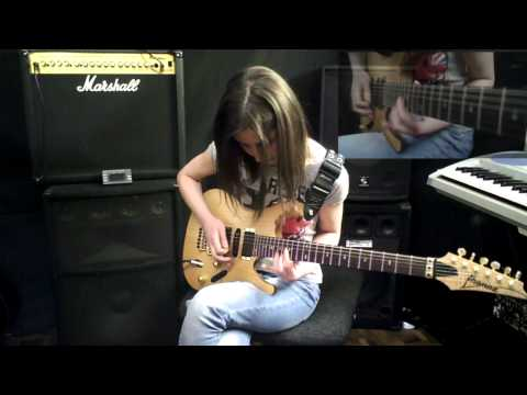 Haykuhi Khachatryan  - The Best of Times solo (Dream Theater cover)