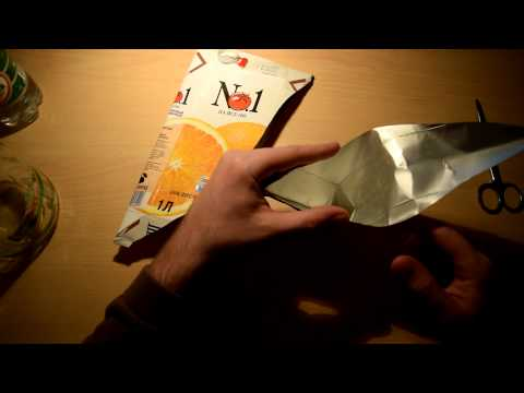 LHFR Channel - How to make a funnel made of paper or cardboard, in a campaign - Part 002
