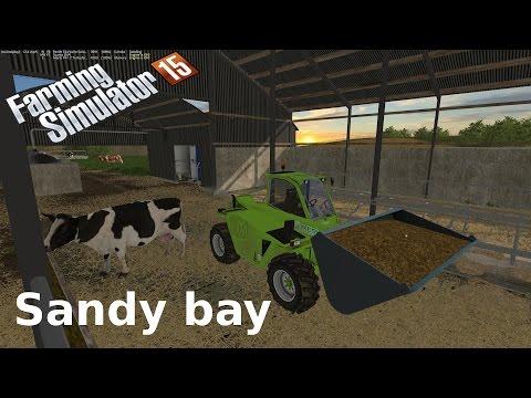 Farming Simulator 2015 Sandy bay feeding the ladies
