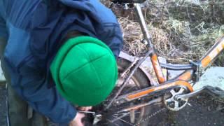 Как правильно одевать цепь на скоростной велосипед(Вот собственно и всё., 2014-04-10T19:41:52.000Z)