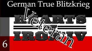 Hearts of Iron 4 - Germany - True Blitzkrieg (Veteran difficulty) Part 6