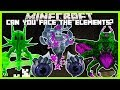 Minecraft - CAN YOU FACE THE NEW LYCANITE ELEMENTALS (NEW UPDATED LYCANITES MOD WITH NEW MOBS!!)