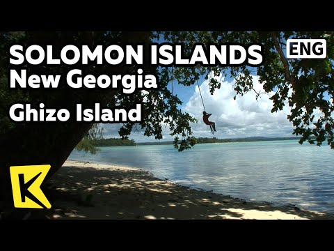 【K】Solomon Islands Travel-Guadalcanal Island[솔로몬제도 여행-뉴조지아]기조섬의 투명한 바다/Ghizo Island/Sea/Coral/Nature
