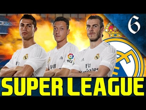 FIFA 16 - SUPER LEAGUE CAREER MODE REAL MADRID EP. 6 - MADRID DERBY!