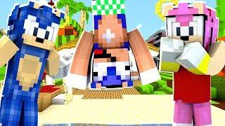 Minecraft Sonic The Hedgehog - Baby Sonic Ruins Sonamy's Date! [58]