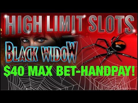 Black Widow $40 Max Bet Bonus Videos