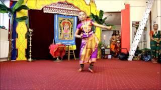 Lashya Academy of Bharathanatiyam-Thoonga Karimugathu Mulu Muthalvan