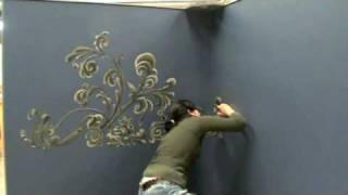 Mural painting : FILIGREE