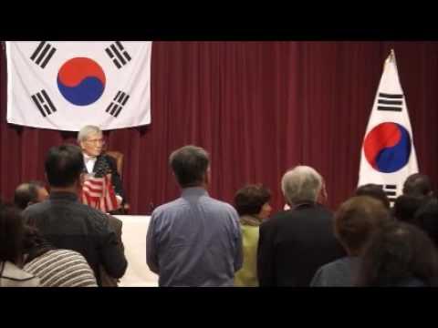 김동길 교수 Laguna Woods 에서 강연, Prof. Dong-Gil Kim's Lecture