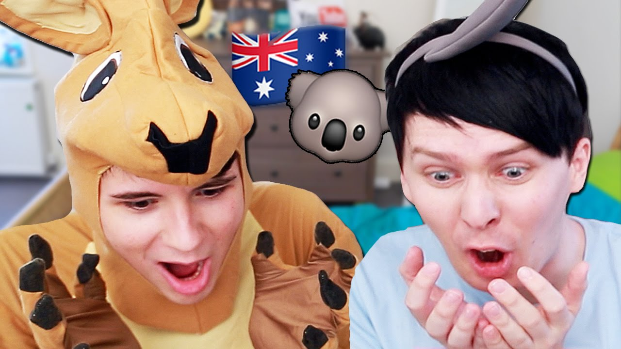 Will Dan And Phil Survive Australia Youtube