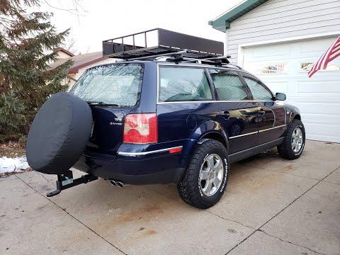 Lifted Passat W8 Wagon on 29s! (Unicorn Build)
