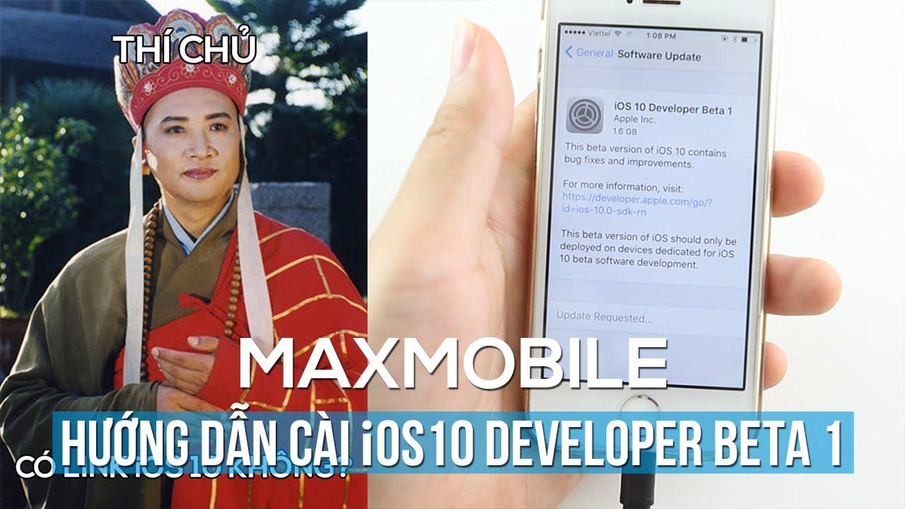 iOS 10: Làm sao để cài đặt mà không cần tài khoản developer?