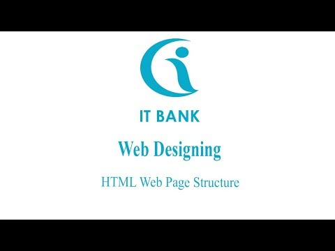 HTML Tutorial 2 - HTML Web Page Structure - Website Designing Tutorial thumbnail