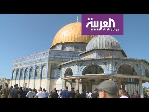 الجهاز الإداري للمنتخب السعودي يزور المسجد الأقصى  - 14:56-2019 / 10 / 14