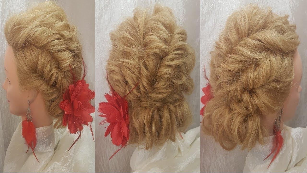 Объемные жгуты из волос