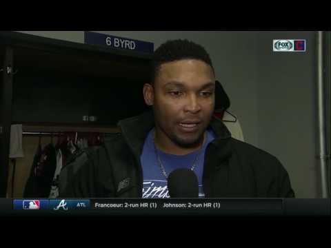 Marlon Byrd happy with offense's response after Cleveland Indians slow start vs. Cincinnati Reds