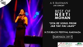 Gambar cover A.R. Rahman Live Concert   Jiya Re Song   Neeti Mohan   Jab Tak Hai Jaan   Kakinada Beach Festival